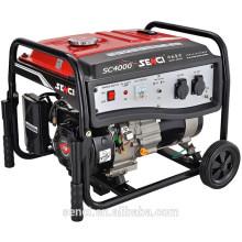 7.5 HP 3.8KW / 3.3KW SC4000-I 60HZ / 50HZ Generador de gas natural