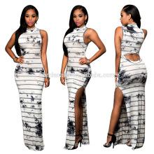 2017 Women Casual Wear Knit Long Maxi Skirts, New Fashion Wear Straight Long Maxi Skirts For Women