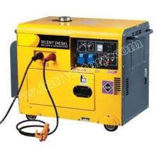 Бесшумный генератор сварочного тока 5кВА с сертификацией CE / Soncap / Ciq