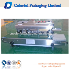 2015 high quality semi-automatic plastic bags heat sealing machine