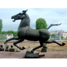 Stainless Steel Sculpture Horse Art Sculpture For Garden/Outdoor