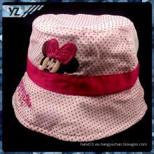 Sombrero vendedor caliente del cubo de la impresión para el cabrito con gran precio