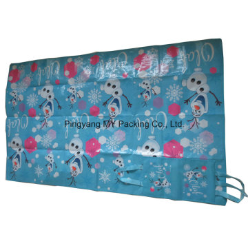 OEM PP Supermarket Advertising Beach Mat with Pouch