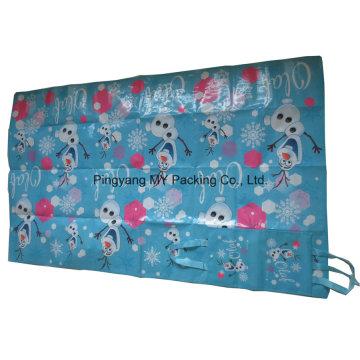Обслуживание OEM PP рекламируя Супермаркет Пляжный коврик с сумкой