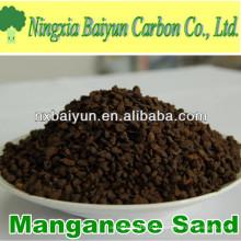 35% de sable vert de manganèse pour enlever le fer de l'eau