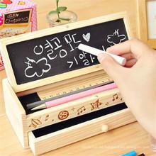 barato caja de lápices de madera multifuncional de la tabla de multiplicación