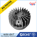 Fabrication d'ODM en aluminium Pièces de moulage mécanique sous pression / radiateur en aluminium