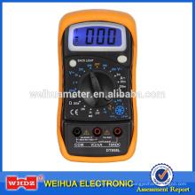 Multímetro digital popular DT858L con temperatura de retroiluminación