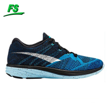 Action sports running shoes,flyknit upper sports shoes,sports running shoes