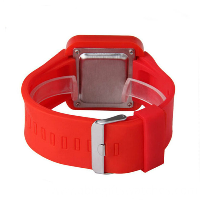 kid silicone led watch