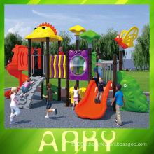 Aire de jeux en plastique de 2014 grand enfant en plein air
