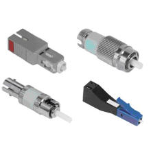 Male to Female St Sm Fiber Optic Attenuator
