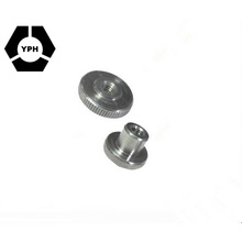 Ningbo Fastener Supplier DIN466 Stainless Steel Knurled Nuts