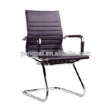 Stainless steel frame office chair with PU leather