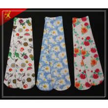 Polyester Cotton Feel Socks Custom Made in China