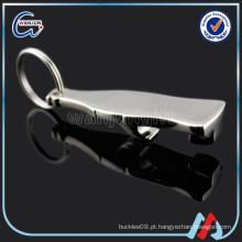 Fabricante do keychain do abridor de garrafas fabricante keychain do laser do metal