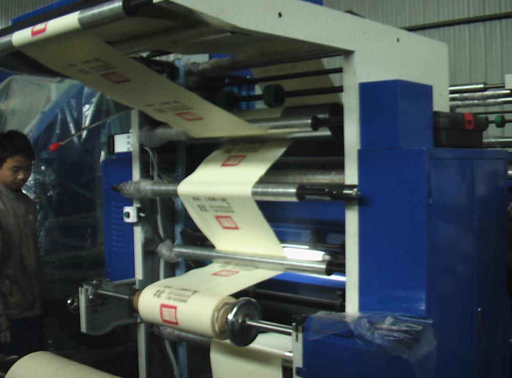 Four Color Flexo Plastic Film Printing Macchine