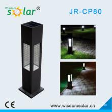 Aluminum Solar rechargeable lantern For LED Garden Lighting