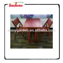 mesa de madera plegable portátil