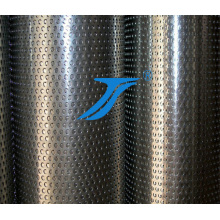 China Factory Oval Hole Perforated Metal Mesh, Stainless Stee