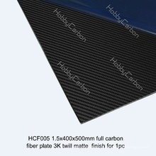 Produtos quentes do corte do CNC da folha da fibra do carbono das vendas para o zangão / UAV / indústria