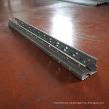 Soporte de rack de soporte de soporte viga de soporte buena línea de producción de estanterías de supermercado