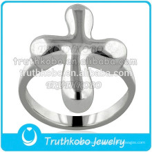 Accept Customized New Arrival Urn Keepsake Jewelry Stainless Steel Ring Cross Sterling Silver Cremation Ring