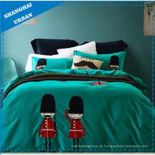 Kids Duvet Cover Set 100% algodão cama