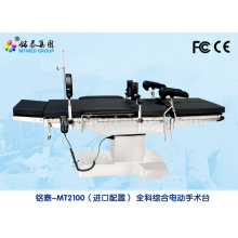 Hospital clinic operating table