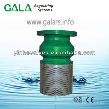 1120 Flanged Cast Iron Foot Valve with Screen