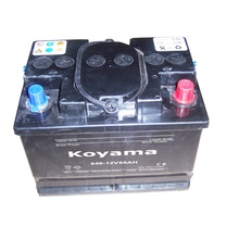 646-12V55AH Auto Battery for South Africa