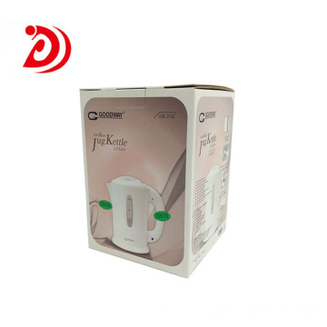 Electric kettle auto lock bottom box