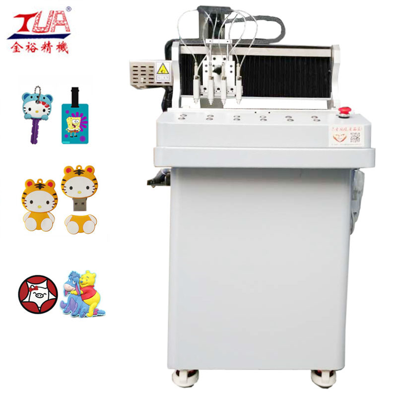 4 Needles AB Glue Dispensing Machine