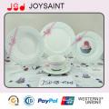 Новая Кость Китай Новый Дизайн Фарфора Посуда Установить Керамическая Плита
