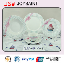 New Bone China New Design Porcelain Tableware Set Ceramic Plate