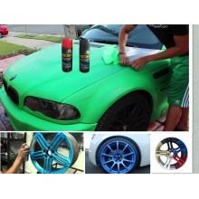 Car Peelable Gummi Lack, abziehbar / abnehmbare Gummi Lack Aerosol Spray