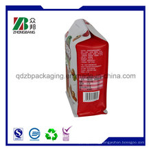 Custom Aluminum Foil Eight Side Seal Packaging Bag