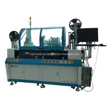 Máquina completamente automática de fresado e incrustación