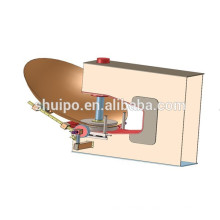 Tank Head Roll Forming CNC Flanging Dish End Metal Spinning Machine