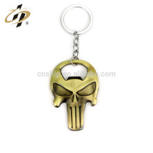 El cráneo personalizado de la cartera suena el abrelatas de botella modificado para requisitos particulares metal del abrelatas de botella / del abrebotellas del metal