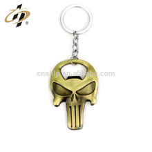 Personalized wallet skull rings metal customized wall mount bottle opener/bottle opener keychain