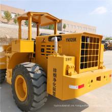 Mini cargador con tracción en las cuatro ruedas