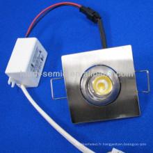 1w 3w edison plafonnier à lumière mobile plafonnier