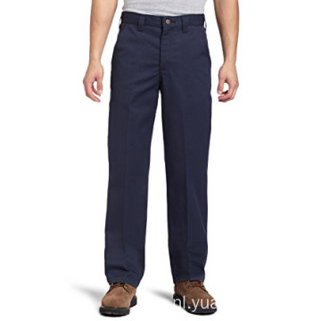 Men's Blended Twill Work Navy Blended Pants