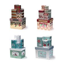 OEM Specification Cardboard Lid Christmas Gift Sets Box