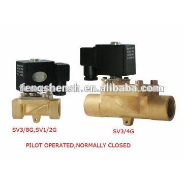 SV3/8G 12V Solenoid Valves (Water Valve) from Shanghai Brand Manufacturer