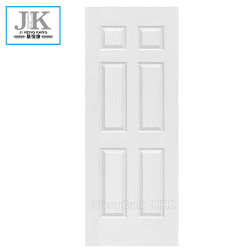 JHK-White 6 Panel 34 Inch Interior Door Skin