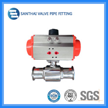 Sanitary Stainless Steel High Temperature Pneumatic Valve with High Pressure