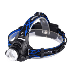 Luz de cabeza LED telescópica ajustable con luz de seguridad