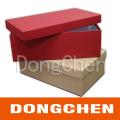 Hand Made Plain Paper Cardboard Shoe Box